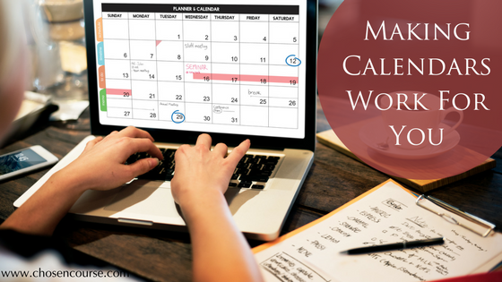 Making Calendars Work For You